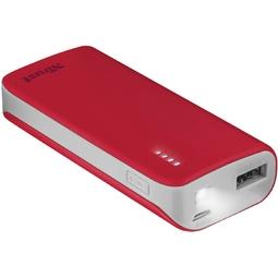 Внешний аккумулятор Trust Primo 4400mAh Red