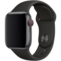 Ремешок для Smart часов Apple Sport Band/S/M и M/L Для Apple Watch 40mm (MTP62ZM/A) Black