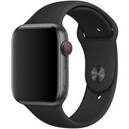 Ремешок для Smart часов Apple Sport Band/S/M и M/L Для Apple Watch 44mm (MTPL2ZM/A) Black
