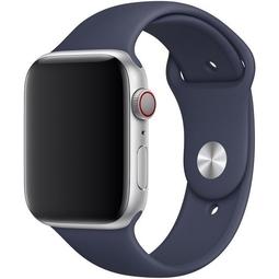Ремешок для Smart часов Apple Sport Band/S/M и M/L Для Apple Watch 44mm (MTPX2ZM/A) Midnight Blue