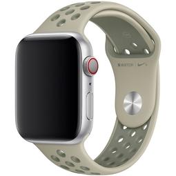 Ремешок для Smart часов Apple Nike Sport Band/S/M и M/L Для Apple Watch 44mm (MV822ZM/A) Spruce Fog/Vintage Lichen