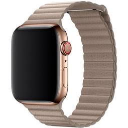 Ремешок для Smart часов Apple Leather Loop/L Для Apple Watch 44mm (MTHD2ZM/A) Stone