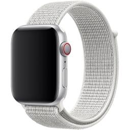 Ремешок для Smart часов Apple Nike Sport Loop Для Apple Watch 44mm (MV7M2ZM/A) Summit White