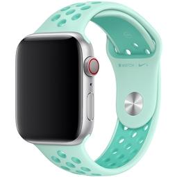 Ремешок для Smart часов Apple Nike Sport Band/S/M и M/L Для Apple Watch 44mm (MV852ZM/A) Teal Tint/Tropical Twist