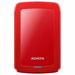 Внешний накопитель Adata AHV300-1TU31-CRD Красный