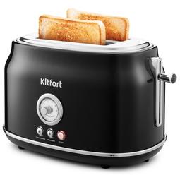 Тостер Kitfort КТ-2038-1 Black