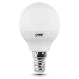 Лампа Gauss Elementary Globe E14 8W 2700K 1/10/50