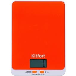Кухонные весы Kitfort КТ-803-5 Orange