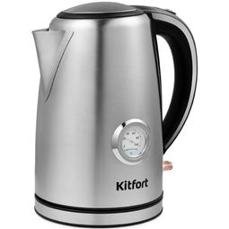 Электрочайник Kitfort KT-676 Silver