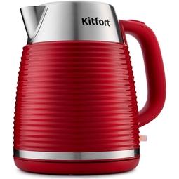 Электрочайник Kitfort KT-695-2 Red