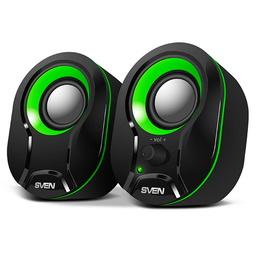 Звуковые колонки Sven 290 Black-Green