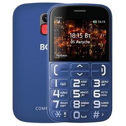 Мобильный телефон BQ 2441 Comfort Blue/Black