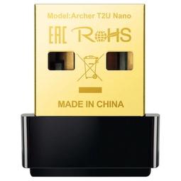 Беспроводной Wi-Fi адаптер Tp-Link Archer T2U Nano