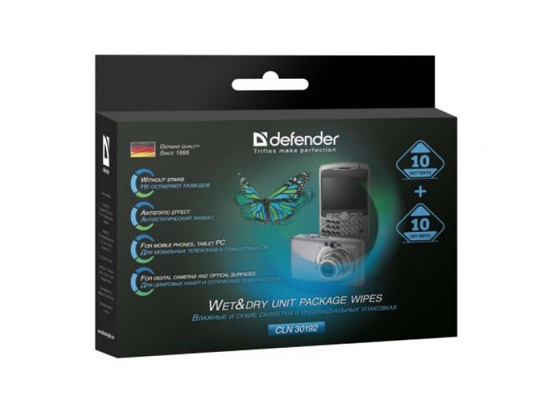 Чистящие салфетки Defender CLN 30192
