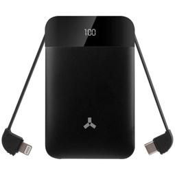 Внешний аккумулятор Accesstyle Flax 8MP 8000mAh Black