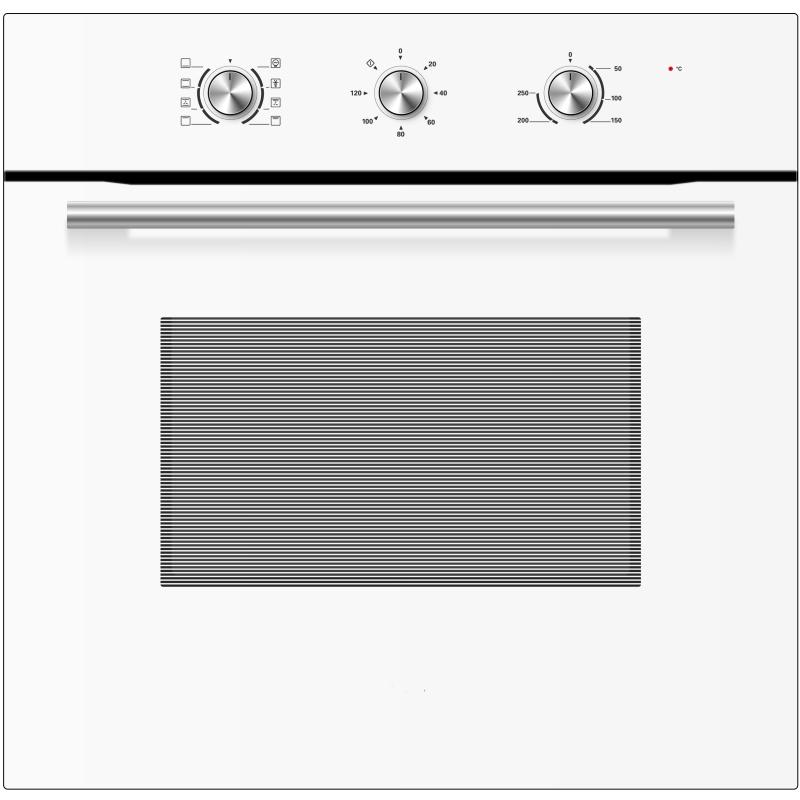 Встраиваемая электрическая духовка Midea MO37000 GW