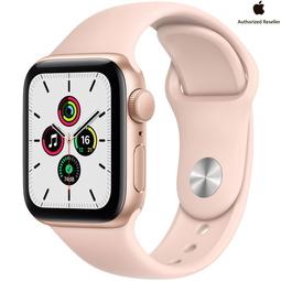 Smart часы Apple Watch SE 40mm Gold Aluminium Case with Pink Sand Sport Band