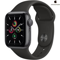 Smart часы Apple Watch SE 40mm Space Gray Aluminium Case with Black Sport Band