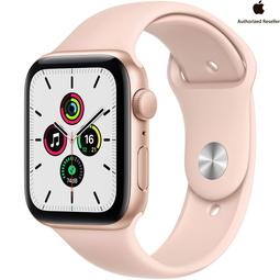 Smart часы Apple Watch SE 44mm Gold Aluminium Case with Pink Sand Sport Band