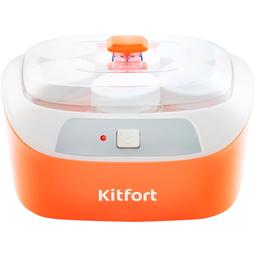 Йогуртница Kitfort КТ-2020 White/Orange