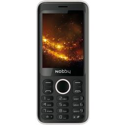 Мобильный телефон Nobby 321 Black/Silver