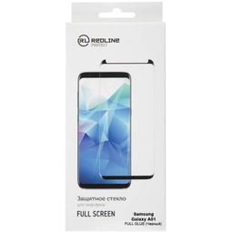Red Line Full Screen + Full Glue Для Samsung A01 Core Black