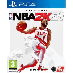 Видеоигра для приставки NBA 2K21