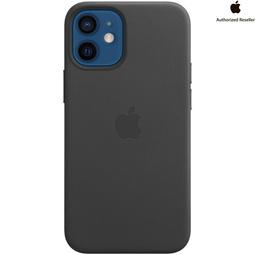 Чехол для смартфона Apple Leather Case with Magsafe Для iPhone 12 mini Black