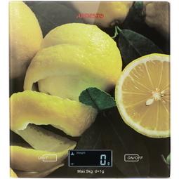 Кухонные весы Ardesto SCK-893 Lemon