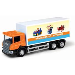 Игрушечная машинка Ideal 039091FW-1 Scania 20 Foot Container (Игрушки)