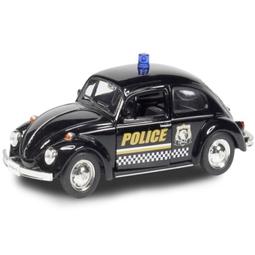 Игрушечная машинка Ideal 036021P Volkswagen Beetle 1967-Police Car