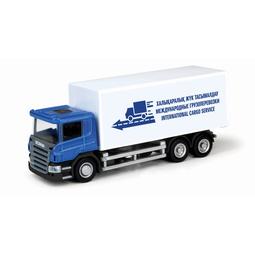 Игрушечная машинка Ideal 039101FW Scania 20 Foot Container (Мебель)