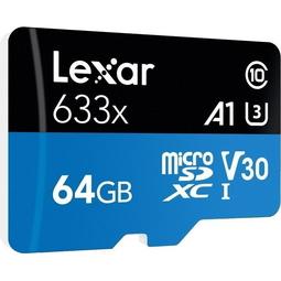Карта памяти Lexar LSDMI64GBB633A 64Gb