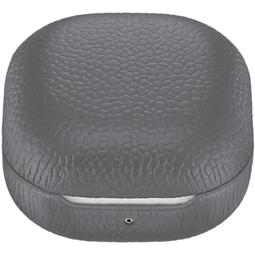 Чехол для наушников Samsung Leather Cover для Samsung Galaxy Buds Live Gray