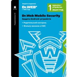 Антивирус Dr.WEB Защита Android-Устройств на 12 Месяцев для 1 Мобильного Устройства (LHM-AA-12M-1-A3)