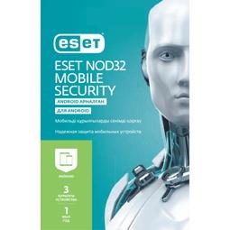 Антивирус ESET Nod 32 Защита Мобильных Устройств на 12 Месяцев для 3 Устройств (NOD32-ENM2-NS(KEY)-1-1)