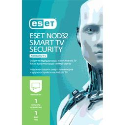Антивирус Eset Nod 32  Защита Смарт ТВ на 12 Месяцев для 1 Устройства (NOD32-MST-NS(KEY)-1-1)