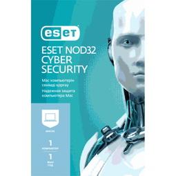 Антивирус Eset Nod 32 Надёжная Защита на 12 Месяцев для 1 ПК Mac (NOD32-ECS-NS(KEY)-1-1)