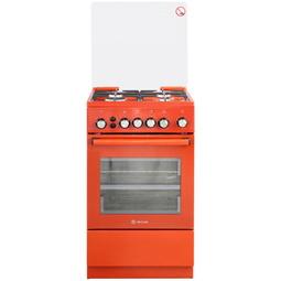 Газовая плита De Luxe  5040. 40Г(КР) Ч/Р-017  Red