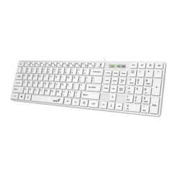 Клавиатура Genius Slimstar 126 Wired Keyboard White 31310017418