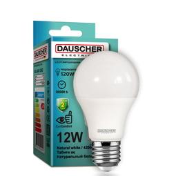 Лампа Dauscher A60 12W E27 4200K