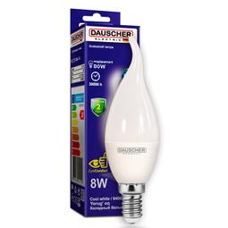 Лампа Dauscher C37 8W E14 6400K