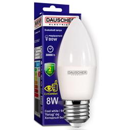 Лампа Dauscher C35 8W E27 6400K