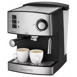 Кофемашина Clatronic ES-3643 Black/Silver