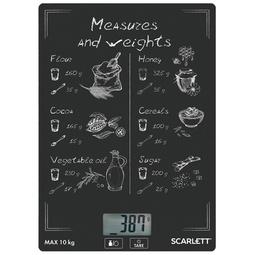 Кухонные весы Scarlett SC-KS57P64