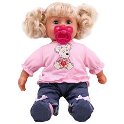 Кукла Bayer Dolls: Пупс Первые Звуки 38См