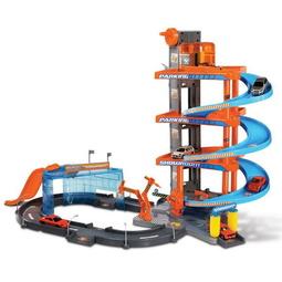 Набор игрушек Bburago: Автосалон Street Fire+ 2 Машинки 1:43