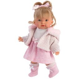 Кукла Llorens: Кукла Валерия 28 См., Блондинка В Розовом Костюме