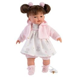 Кукла Llorens: Кукла Вера 33См, Брюнетка В Розовом Наряде