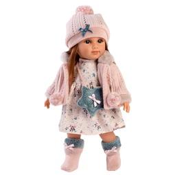 Кукла Llorens: Кукла Николь 35См Шатенка В Розовой Курточке